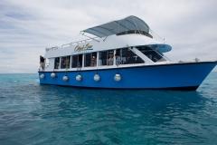 Coral Sea Kirks Adventures Boat Rental